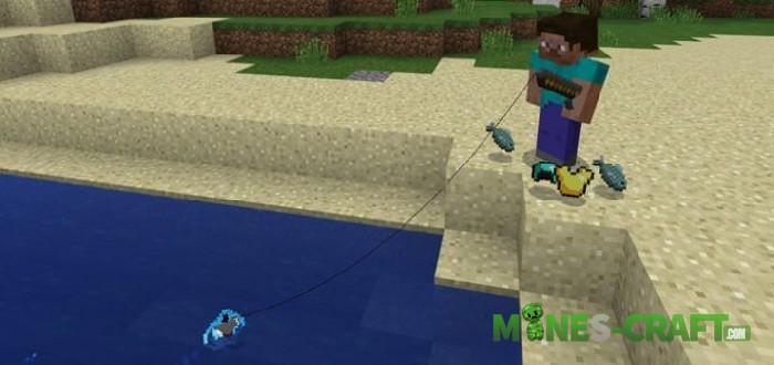 New Catch Addon Minecraft PE