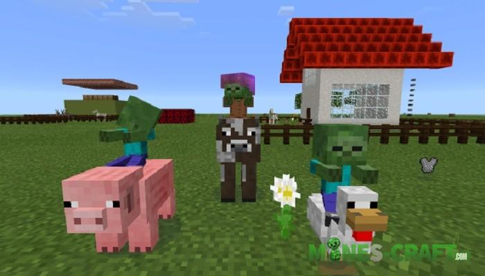 More Jockeys Addon Minecraft PE