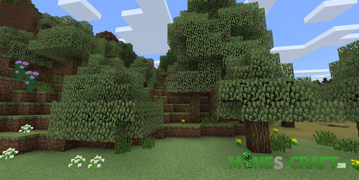 Seasons Addon Minecraft PE
