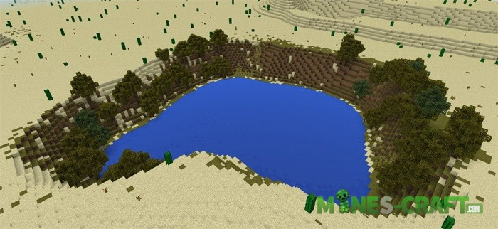 3/1 Custom Terrain Map mcpe