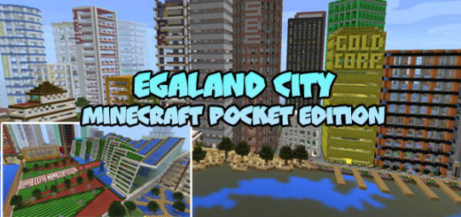Egaland City [Minecraft PE 1.2]
