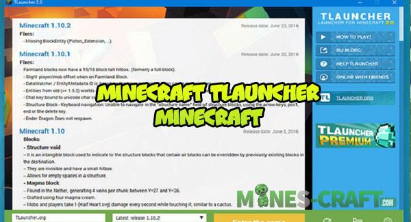 Minecraft TLauncher | | Mines-Craft.com