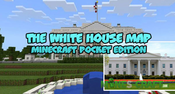 The White House Map Mines Craft Com