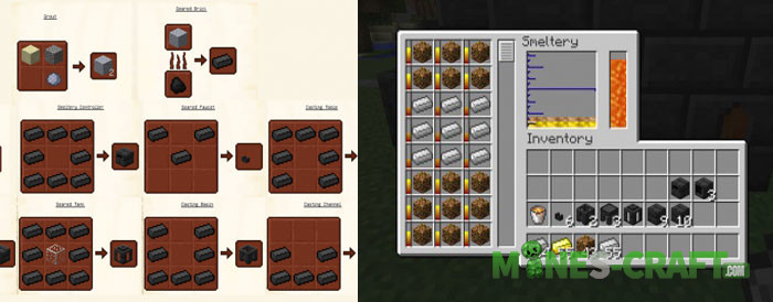 minecraft tinkers construct recipes