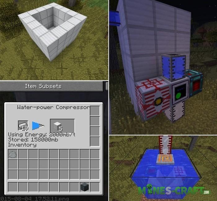 Water Power Mod Minecraft