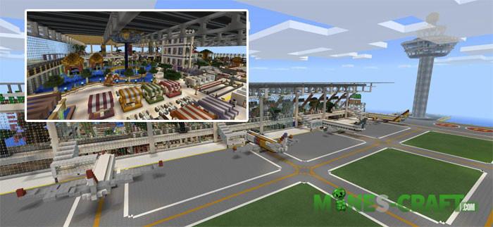 Egaland City Minecraft PE