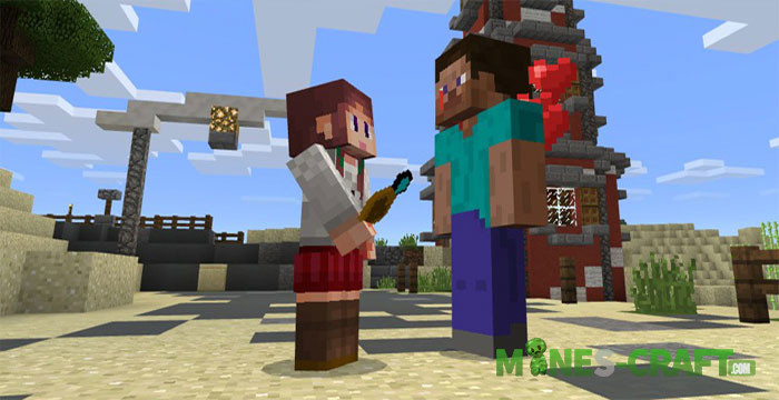 Girlfriend Addon MCPE
