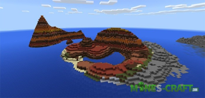 Custom Islands Map MCPE