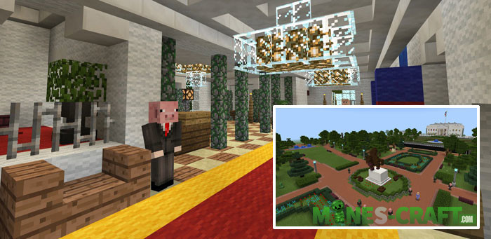 The White House Minecraft PE