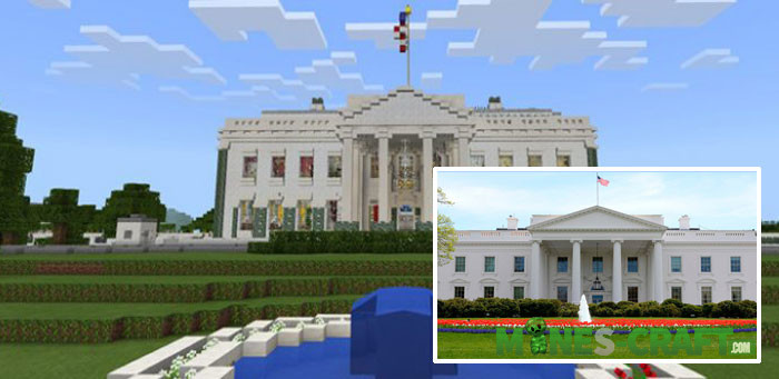 The White House Minecraft PE