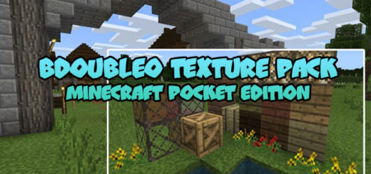 BdoubleO Texture Pack MCPE