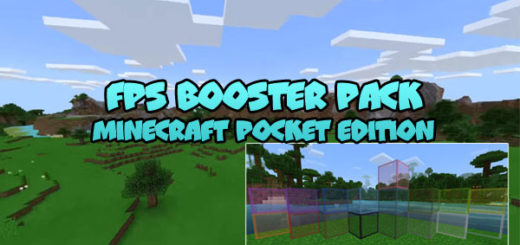 FPS Booster Pack [Minecraft PE]