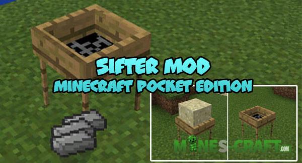 Sifter Mod [Minecraft PE] | | Mines-Craft.com