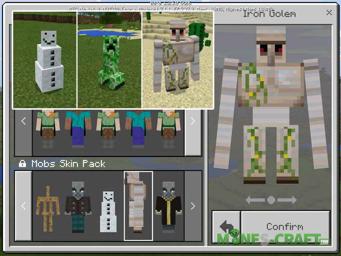 Mobs Skin Pack [MCPE]
