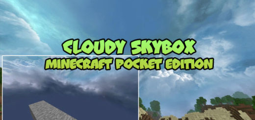 Cloudy Skybox MCPE