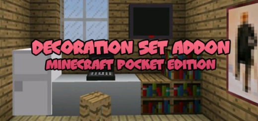 Decoration Set Addon MCPE