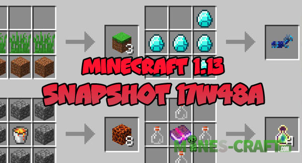 Download Minecraft 1.13 – Snapshot 17W48A | | Mines-Craft.com