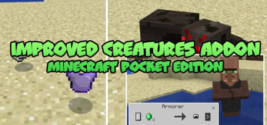 Improved Creatures Addon MCPE