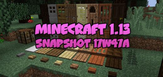 Download Minecraft 1.13 - Snapshot 17W47A
