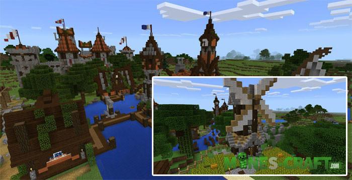 Minecraft PE Diverse World MCPE