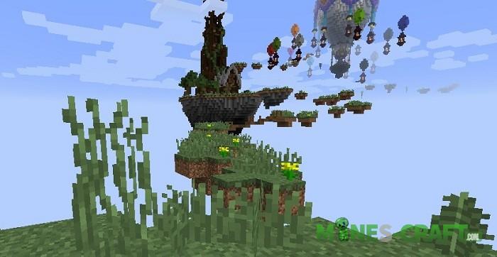 Sky Jumper Map Minecraft