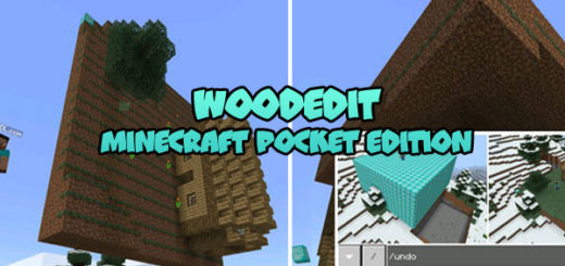 Minecraft PE WoodEdit
