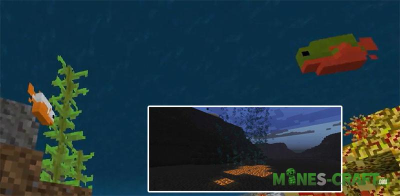Minecraft PE 1.4 and 1.14 Java