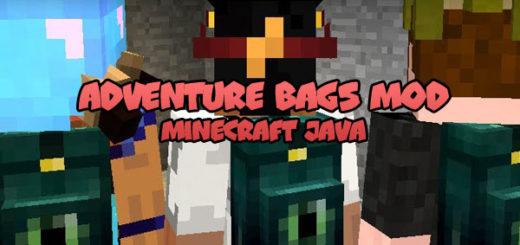 Adventure Bags Mod Minecraft