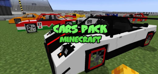 Cars Pack Minecraft