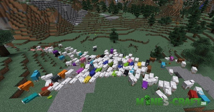 Colorful-Sheep-Mod Minecraft