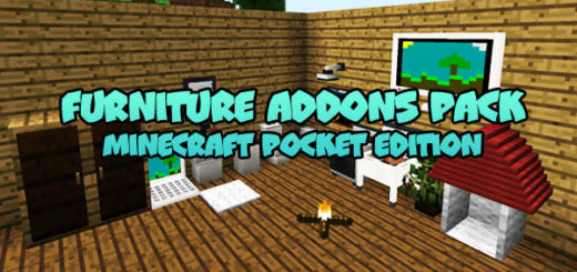 Furniture Addons Pack MCPE