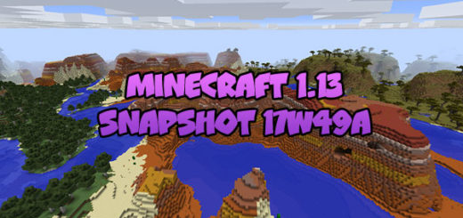 Download Minecraft 1.13 – Snapshot 17W49A