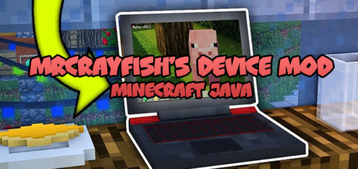 MrCrayfish's Device Mod Minecraft