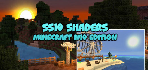 SS10 Shaders for Minecraft PE Windows 10