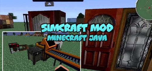 SimCraft Mod Minecraft
