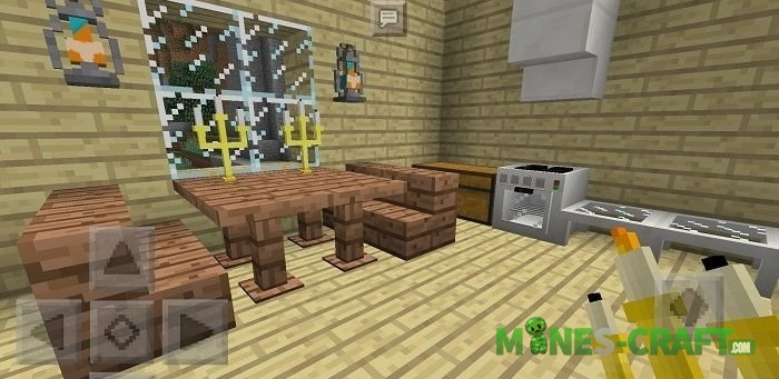 Sle's Furniture Mod for MCPE