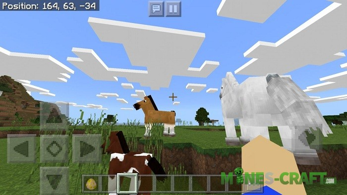 The Old Horse Model to Minecraft Bedrock 1.2