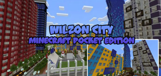 Wilzon City Minecraft PE