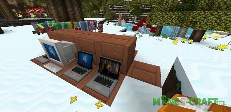 XmasBDCraft Resource Pack Minecraft