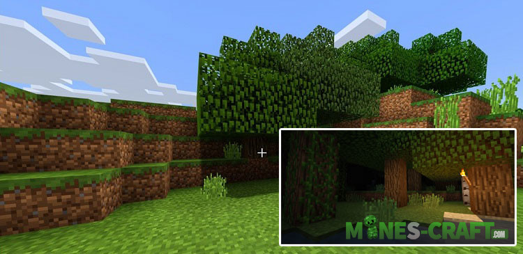 Enhanced Vanilla Shaders Minecraft PE