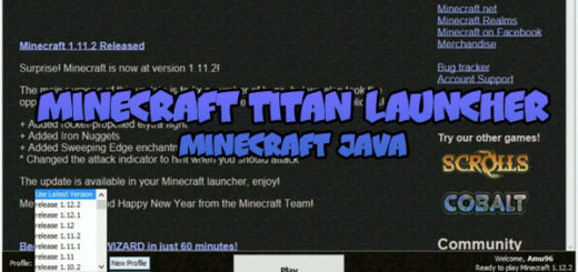 Minecraft Titan Launcher