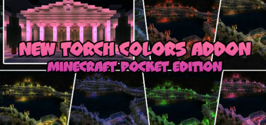 New Torch Colors Addon MCPE