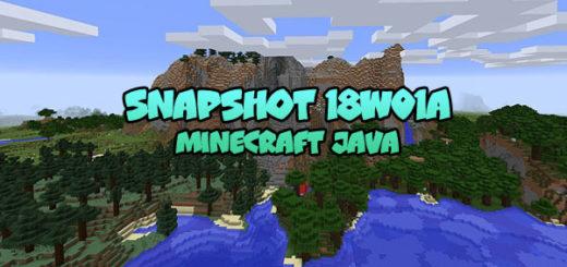 Download Minecraft 1.13 – Snapshot 18W01A