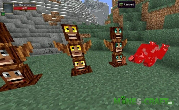 Totem Defender Mod Minecraft