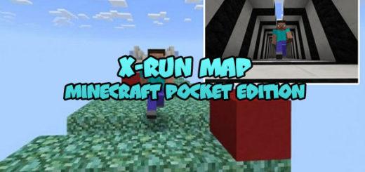 X-RUN Map Minecraft Bedrock