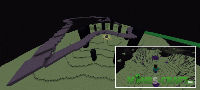 X-RUN Map Minecraft Bedrock
