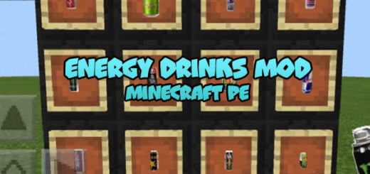 Energy Drinks Mod Minecraft PE