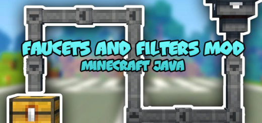Faucets and Filters Mod