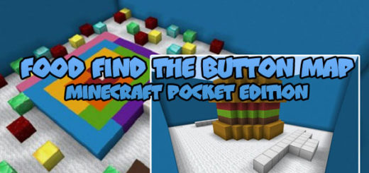 Food Find The Button Map [MCPE]