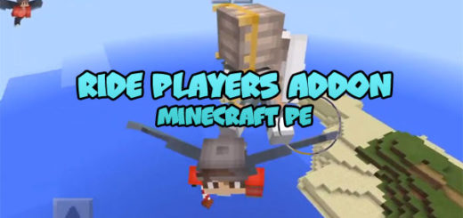Ride Players Addon MCPE